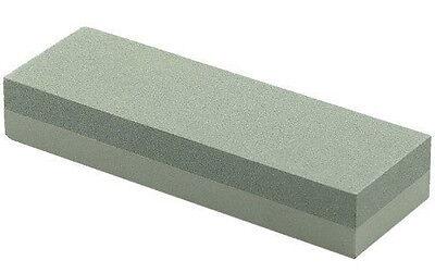 """6"""" Aluminium Oxide Sharpening Stone Duel Grit Knife Sharpener"""