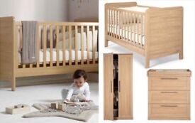 Rialto mamas & papas nursery furniture set