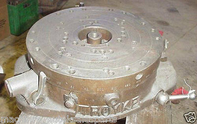 12 Troyke Diameter Index Rotary Table Roto Indexer Cnc Ah 12 Ah12