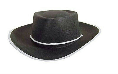 Jacobson Black Felt Child Cowboy Costume Hat Large Black Felt Child Cowboy Hat