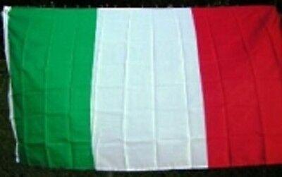 5x8 Embroidered Sewn Nylon Italy Flag 5'x8'