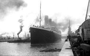 RMS-Titanic-at-Southampton-13-x-19-Photo-Print