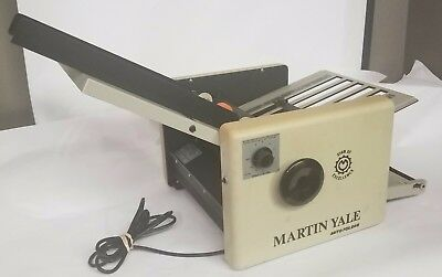 Genuine Martin Yale Model Paper Folder Warranty