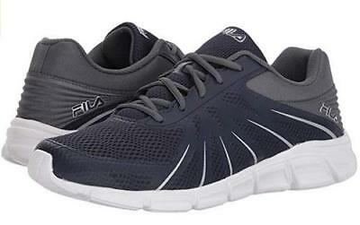 FILA Memory Fraction Blue+Gray Men's Athletic Shoes Running Casual 1RM00150 NEW