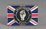 Northern Soul Pin Badges