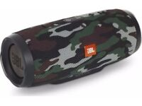 JBL Charge 3 Squad Waterproof Portable Bluetooth Wireless Speaker - Camouflage