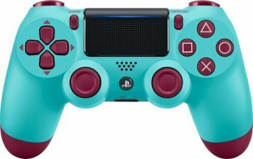 wireless PS4 controller for Sony Playstation 4 - Berry Blue Dualshock 4 +USB Cab
