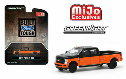 2019 FORD F-350 DUALLY PICKUP TRUCK MIJO 3024 MADE 1/64 SCALE GREENLIGHT 51318