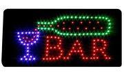 Leuchtschild Bar