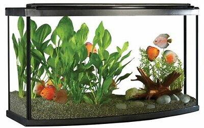 Fluval Premium Bow Front Aquarium Kit w/ LED, 45 Gallon (170L)