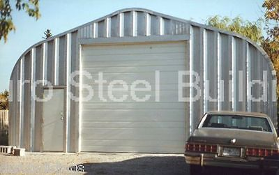 Durospan Steel 20x30x16 Metal Garage Building Boat Rv Storage Factory Direct