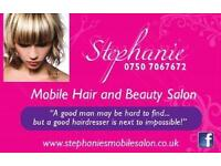 MOBILE HAIRDRESSER GLASGOW | EAST END