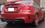 BMW 135i Bumper
