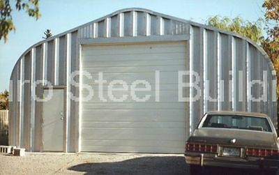 Durospan Steel 30x50x14 Metal Diy Garage Building As Seen On Tv Factory Direct