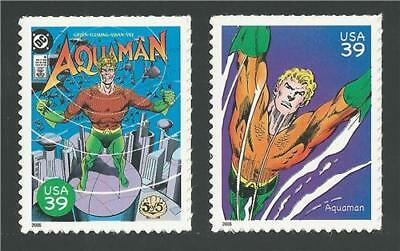 Aquaman #5 King of the Seven Seas DC Comic Superhero US Stamp Set MINT CONDITION