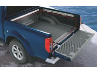 Rugged Heavy Duty cargo liner 4 Nissan Navarra doublecab model-under rail as new FREE tailgate cover