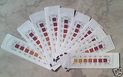 Total Hardness Water Test Strips 10 pc. PrePrinted Foils Easy Accurate 481108-1p