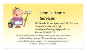 JENNI'S HOME SERVICES