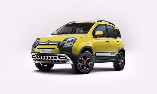 2017 fiat panda 1 3 multijet 95 cross 4x4 5 door diesel hatchback in aylesbury. Black Bedroom Furniture Sets. Home Design Ideas