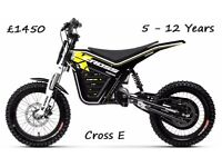 Kuberg Electric Off Road Motorcycles From 3 years to Adults From £875