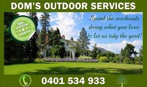 DOMS LAWN CARE AND GARDEN MAINTENANCE Mower Trimmer Cleaner Turf Upper Coomera Gold Coast North Preview