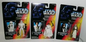 Star Wars Power of the Force Action Figures new in package