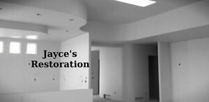 Jayce's Restoration- DRYWALL, FRAMING, ROOFING, T-BAR, ETC