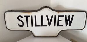 Vintage Double Sided Street Signs West Island Greater Montréal image 2