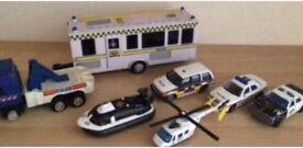 Children's Toy Police Vehicles Bundle