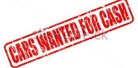 WANTED CARS CASH PAID UP TO £500