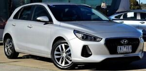 2018 Hyundai i30 PD2 MY18 Active Silver 6 Speed Sports Automatic Hatchback Ferntree Gully Knox Area Preview