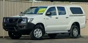 2013 Toyota Hilux KUN26R MY12 SR (4x4) White 4 Speed Automatic Dual Cab Pick-up Lismore Lismore Area Preview