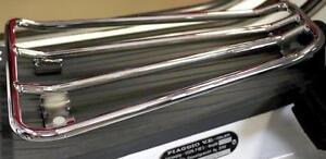 Chrome Floor Runner Carrier Vespa PX LML Rack Luggage Star 125 150 200