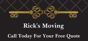 Rick's Moving Monthly Specials