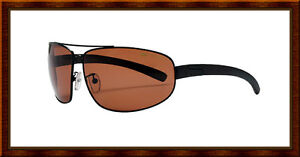 New $150 Bolle Prospect Polarized Sport Aviator Sunglasses 10679 Brown Sandstone