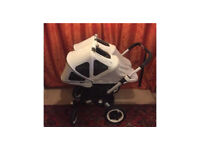 Bugaboo donkey tween double buggy