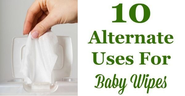 10 Alternate Uses For Baby Wipes