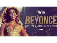 BEYONCE TICKETS CROKE PARK 9th JULY