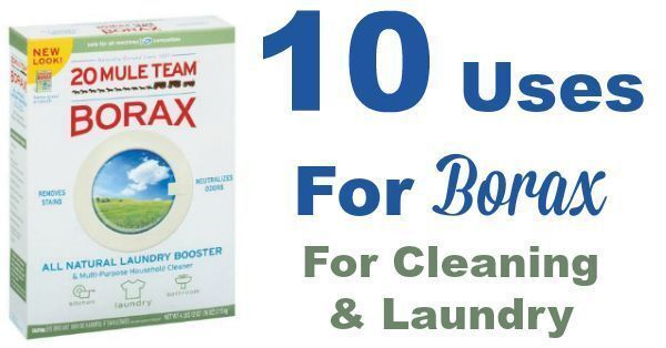 10 Uses For Borax For Cleaning & Laundry