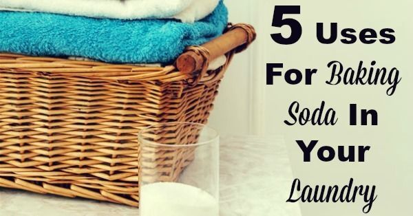 5 Uses For Baking Soda In Your Laundry