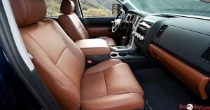LEATHER BUCKETS & REAR SEAT