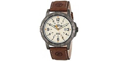 Timex Men's Expedition Rugged Field Watch with Leather Band T49990