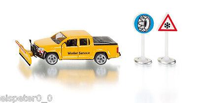 VW Amarok Service de déneigement, Siku Super 1:50, Art. 2546
