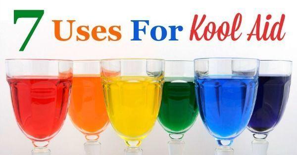 7 Uses For Kool Aid
