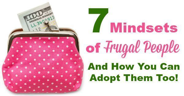 7 Mindsets Of Frugal People {& How You Can Adopt Them Too!}