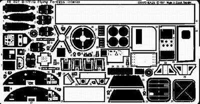 Eduard 1/48 B-17F/G Interior Revell/Monogram 48207