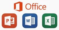Training on Excel, Word and PowerPoint