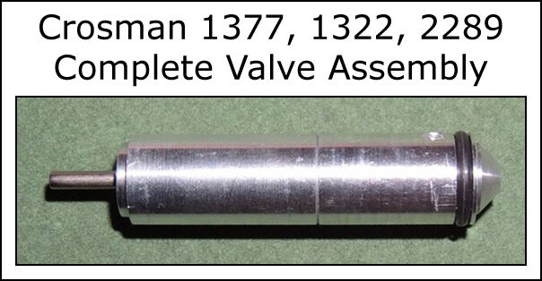 Genuine Crosman 1377 1322 2289 Complete Valve Assembly - 1322c013