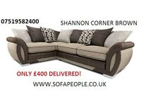 a range of shannon's either 3 plus 2 or corners, cuddles, chairs available plus many others