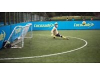 5 a side goalkeeper